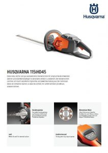 Husqvarna 115iHD45 Heckenschere
