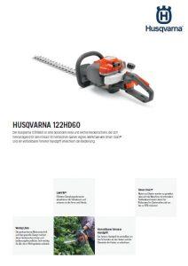 Husqvarna 122HD60 Heckenschere
