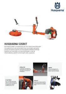 Husqvarna 535RX Motorsense
