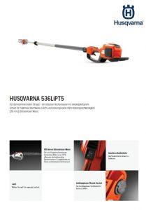 Husqvarna 536LiPT5 Hochentaster