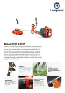 Husqvarna 545RXT Motorsense