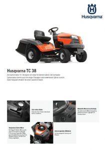 Husqvarna TC 38 Gartentraktor