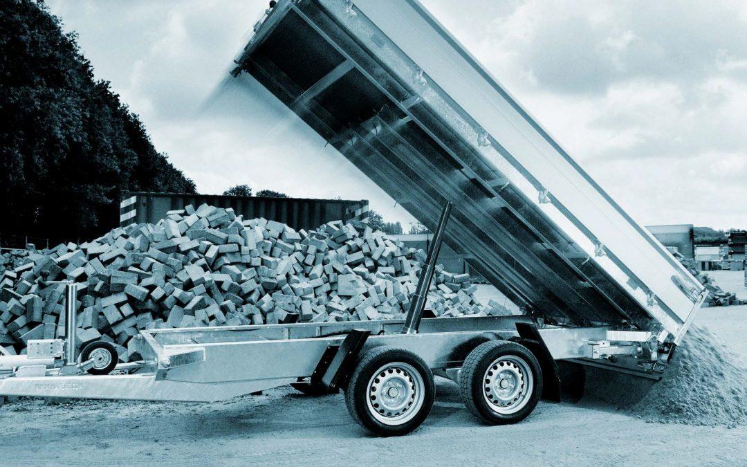 Hapert Cobalt – PKW-Anhänger – Kipper